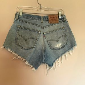 Vintage Levi's Jean Shorts Cheeky Urban Renewal XS